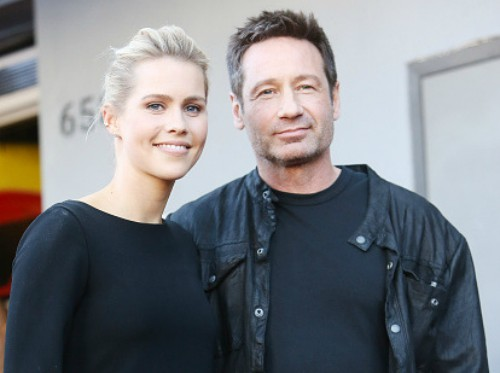 Claire Holt david duchovny