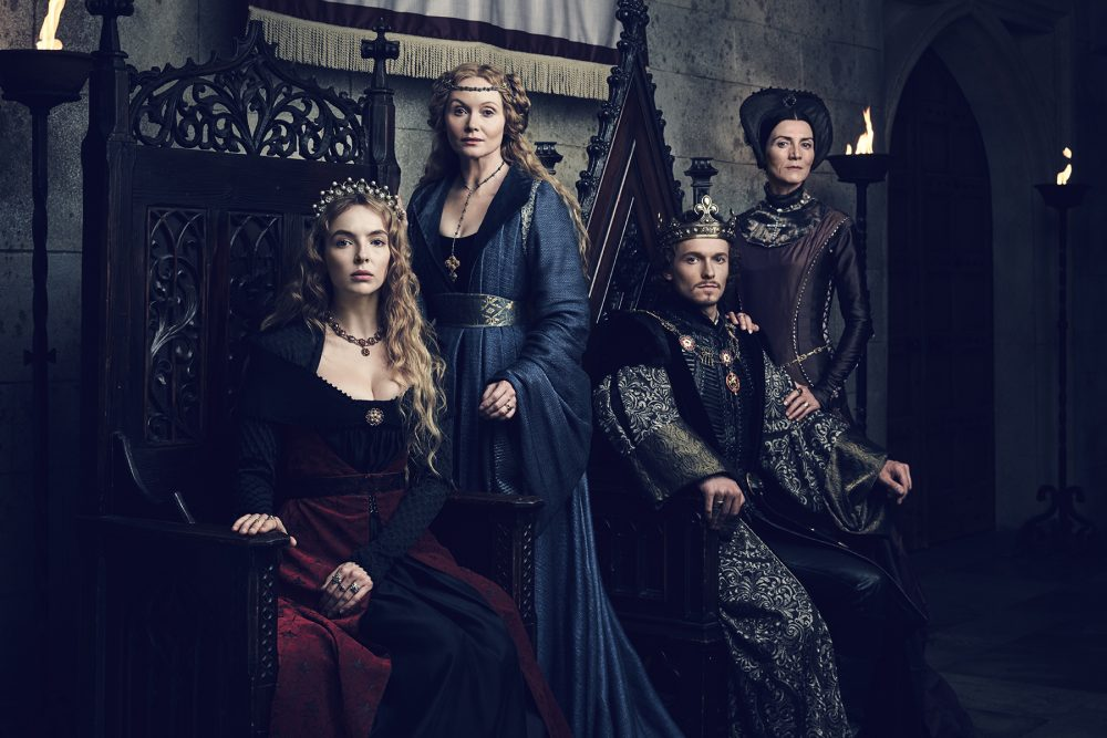 Princess Margaret Photoshoot >> The White Princess Portraits & Official Series Synopsis