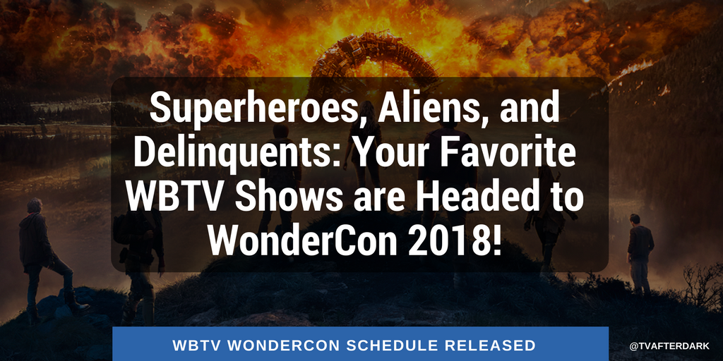 Superheroes, Aliens, and Delinquents: Your Favorite WBTV Shows are