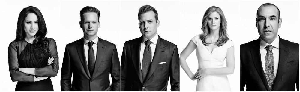 suits season 5 cast portraits amp promotional poster